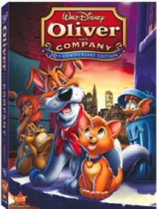Oliver and Company DVD Box Art