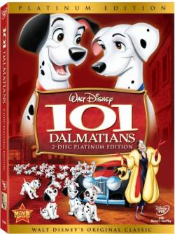 101 Dalmatians DVD box cover