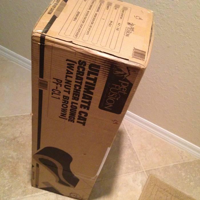 The PetFusion Ultimate Cat Scratcher Lounge Box