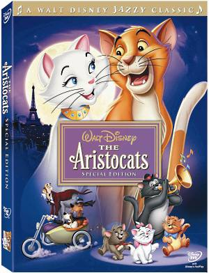 The Aristocats DVD Box Cover