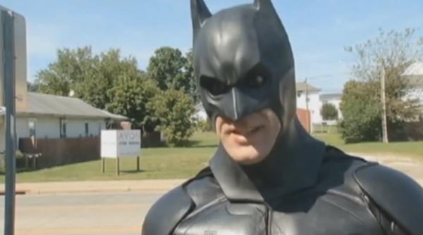 John Batman Buckland saves cat from fire