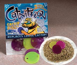 Catniption cat discs