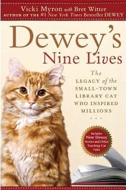 Dewey's Nine Lives Book Cover