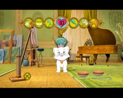 Screen shot of Disney Virtual Kitten game