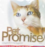 Pet Promise cat food bag