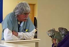 Veterinarian Kevin Fitzgerald