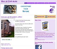 The Way of Cats Blog screen shot