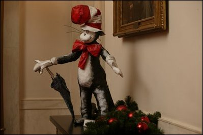 The Cat in the Hat White House Christmas Decoration