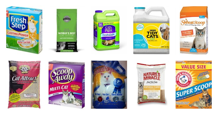 Cat litter brands