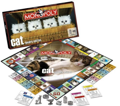 Monopoly Game Cat Lovers Edition