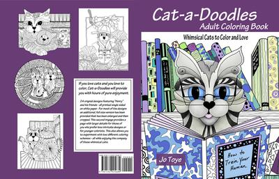 Cat-a-Doodles Adult Coloring Book