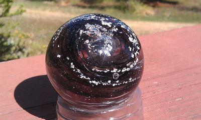 Ash Inclusion Paperweight