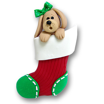 Dog in a Stocking