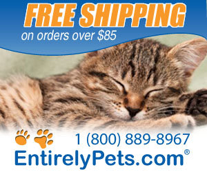 Free shipping on orders over $85, always low prices on pet medication at EntirelyPets.com