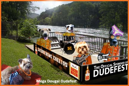 Here's our #Dudefest press photo! Pretty cool, look @frugaldo... on Twitpic
