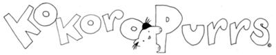 KokoroPurrs Comic Logo