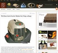 Modern Cat blog screen shot